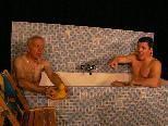 Herren im Bad - dieser herrliche Klassiker wird gespielt von Alfred Bargetz und Harald Ponier