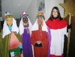 In der Pfarre St. Karl waren 7 Sternsingergruppen unterwegs.