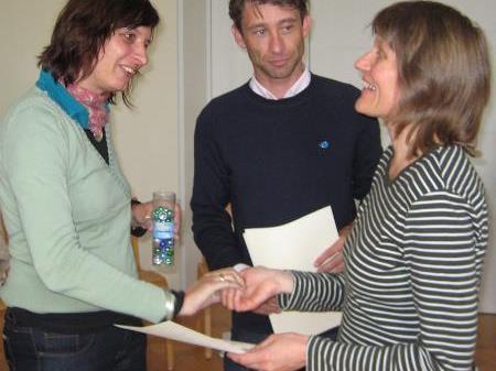 Lehrgangsabsolventen: Strategisches- Freiwilligen Management