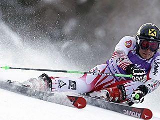 Marcel Hirscher holte im zweiten Lauf noch einen Rang auf