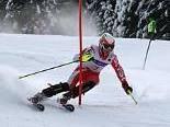 Martin Bischof auf dem Weg zur Silbermedaille.