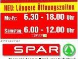 Neue Öffnungszeiten im Sparmarkt in Andelsbuch
