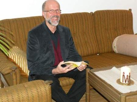 """Pfarrer Paul Riedmann: """"Der christliche Glaube wird als Quelle neuer Lebenskraft in die Mitte gerückt."""""""