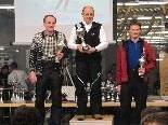 Siegerbild Alterklasse II (ganz links Schwarzhans Adolf, Feuerwehr Silbertal, 2.Platz)