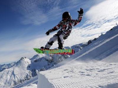 Snowboard-Woche mit vielfältigem Programm.