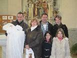 Taufe von Sarah Gorisek