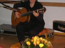 Zeigte musikalisches Talent- Angela Mair aus Bludesch