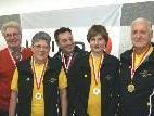 v.l. Hermann Sturm, Rösle Meier, Herbert Allgäuer, David Nesensohn, Gerald Himbury