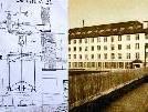 150 Jahre nach der Errichtung des ersten Fabrikgebäudes in Frastanz schloss die Textilfirma Ganahl endgültig ihre Tore - jetzt wird ein maßstabgetreues Modell samt Königswelle (links) erstellt