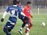 Akademie Unter-19-Elf führte 2:0, aber spielte nur Remis.