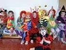 """Begeisterte kleine Tänzer beim Kurs """"Kreatives Tanzen"""" in Schlins"""