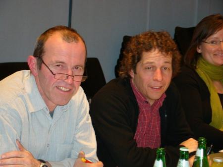 Bernd Bösch (rechts) und Thomas Mittelberger.