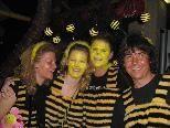 Biene Maja und Willi waren beliebte Faschingskostüme