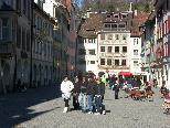 Bild: Die malerische Marktgasse ist eines von zahlreichen Feldkirch Fotomotiven.