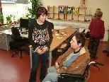 Bild: Die neue Servicestelle ist die erste Anlaufstelle für Betreuungssuchende.