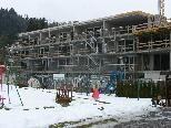 Bild: Die neue Wohnanlage in Tosters soll im Juli bezugsfertig sein.