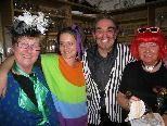 Bis Mitternacht wurde beim Schivereinskehraus kräftig gefeiert.