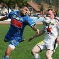 Bregenz-Verteidiger Serkan Yildiz spielte in der Abwehrkette rechts hinten.