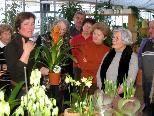 Brigitte Geiger-Kopf  verstand es, das Frühlingserwachen bei winterlichen Temperaturen zu vermitteln