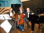 """Das weltbekannte """"Rachmaninow Trio Moskau"""" gastierte in Triesen."""