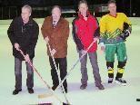 Die Bürgermeister von Götzis, Altach und Hohenems beim Freundschaftsturnier 2008.