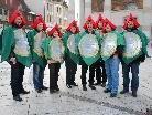 Die Dornbirner Fasnat-Zunft hatte zur traditionellen Stadtratentführung geladen.