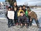 Die Drittklässler der VS Dornbirn Markt überprüften ihren Stadtteil auf Kindertauglichkeit.