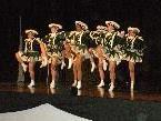 Die Lauteracher Garde-Mädchen beim Auftritt.