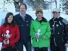 Die Tagessieger mit Bgm. Florian Kasseroler und Obmann Karlheinz Maier.