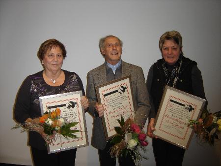 Elisabeth Möggenried, Herma Pocza und Erwin Fenkart