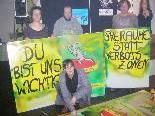 Emsige gestalteten 50 Wahlplakate in Eigenregie.