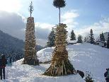 Funken der Ortsfeuerwehr Wald am Arlberg