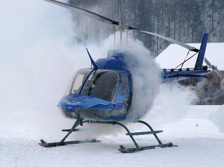 """Hubschraubernotlandung"""" - aber nur zur Übung"""
