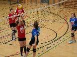 Im Rahmen der Sparkassen-Volleyball-Meisterschaft siegte die Sport-Mittelschule aus dem Walgau