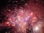 Mc Pyro zaubert ein grandioses Feueruniversum in den Himmel über Brederis