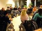Menschen mit Behinderung berichteten über ihre Erfahrungen mit öffentlichen Verkehrsmitteln.