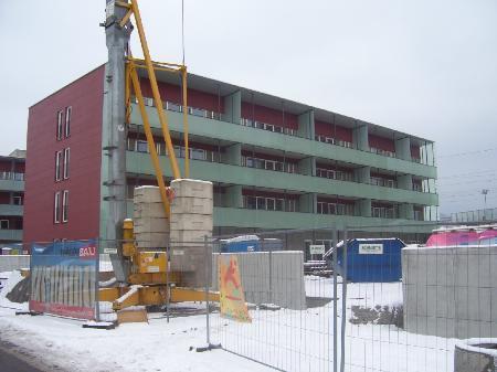 Neubau einer Wohnanlage in Dornbirn