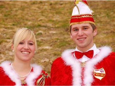 Prinz Florian I und Prinzessin Stefanie I.