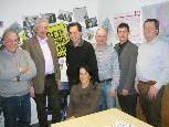 Rudi Häfele, Werner Drexel, Kurt Raos, Judith Waibel, Karl Klien, Alexander Burtscher, Gerhard Hoch