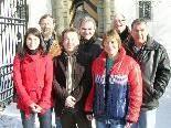 SPÖ-Team: N. Unterkofler, A.Häfele, Y. Cinar, Th. Kertel, E. Märk, R. Steiner und G. Wagner (v.l.)