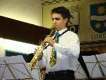 Simon Ganahl absolvierte die Prüfung zum Jungmusikerleistungsabzeichen in Gold.