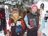 Skivereinsmeister 2010: Julian Überbacher und Natascha Lampert.