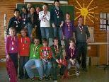 Strahlende Gesichter bei den Watzenegger Schülern, nachdem sie neben Gold vor allem viel Erfahrungen beim Projekt sammeln durften.