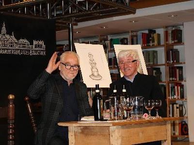 Tone Fink und Josef Wehinger
