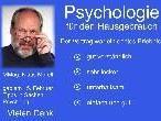 Vortrag von Psychologe MMag. Klaus Morell, im Mehrzweckraum des Sozialzentrums in Altach