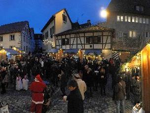 'Weihnachtsmarkt in der Bregenzer Altstadt