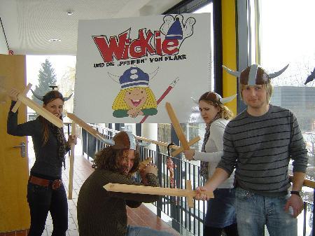 """Wickie und die """"Pfeifen"""" von Flake - So der Titel des Gemeinschaftsprojektes."""