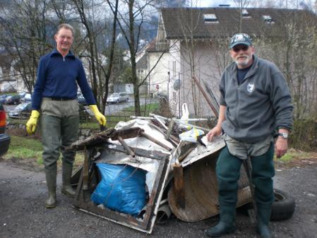 350 bis 400 Mitglieder der Bludenzer Vereine sind jedes Jahr bei der Landschaftsreinigung dabei.