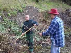 Ab sofort kann Grünmüll bei Bauhof Lager Unterstein abgegeben werden