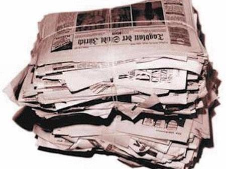 Altpapiersammlung in Bezau